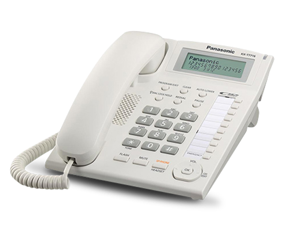 Kx T7716 Analogue Keyphone System Panasonic Pbx By Teligraph